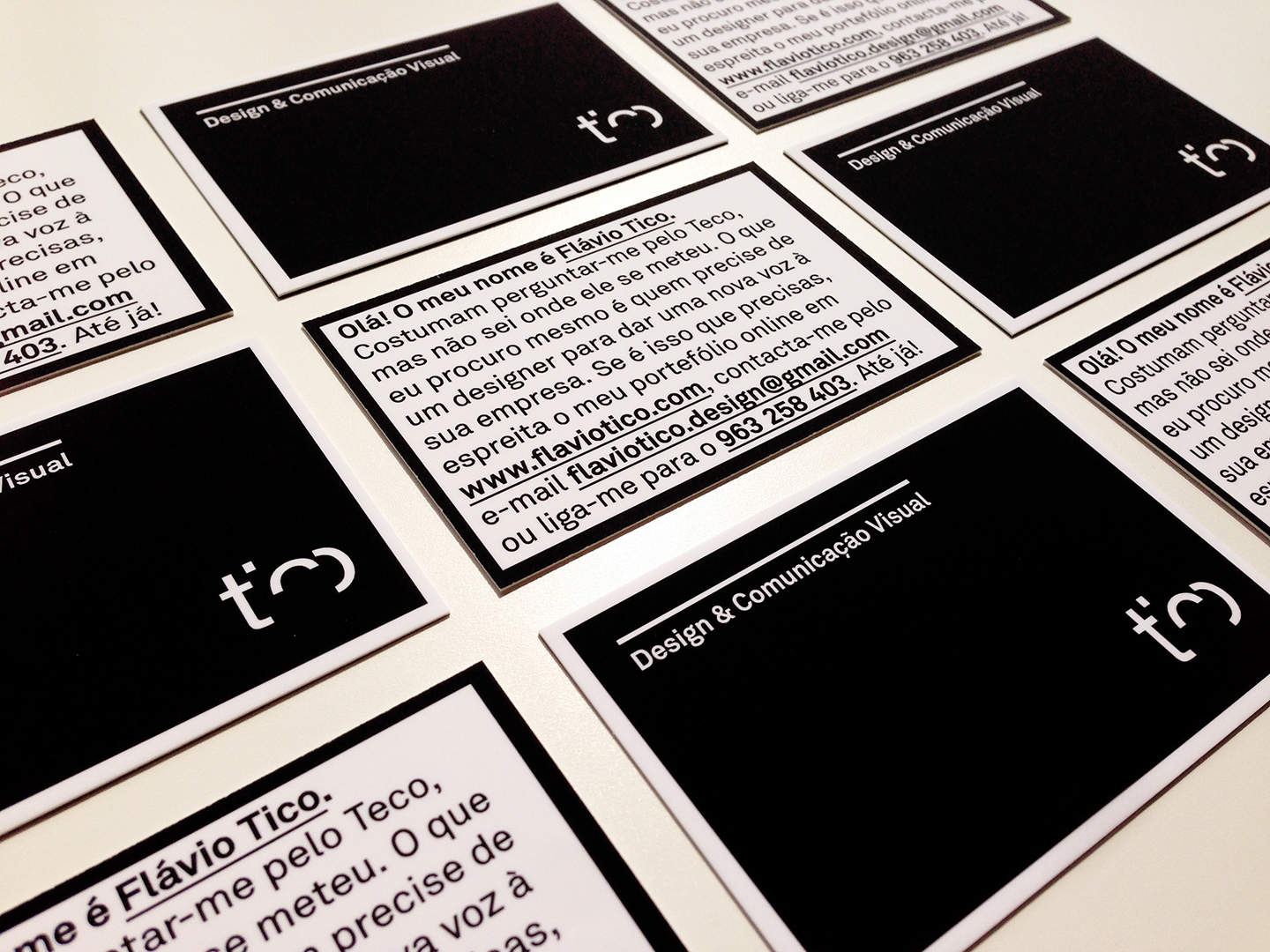 Personal &Self-Promo business cards.