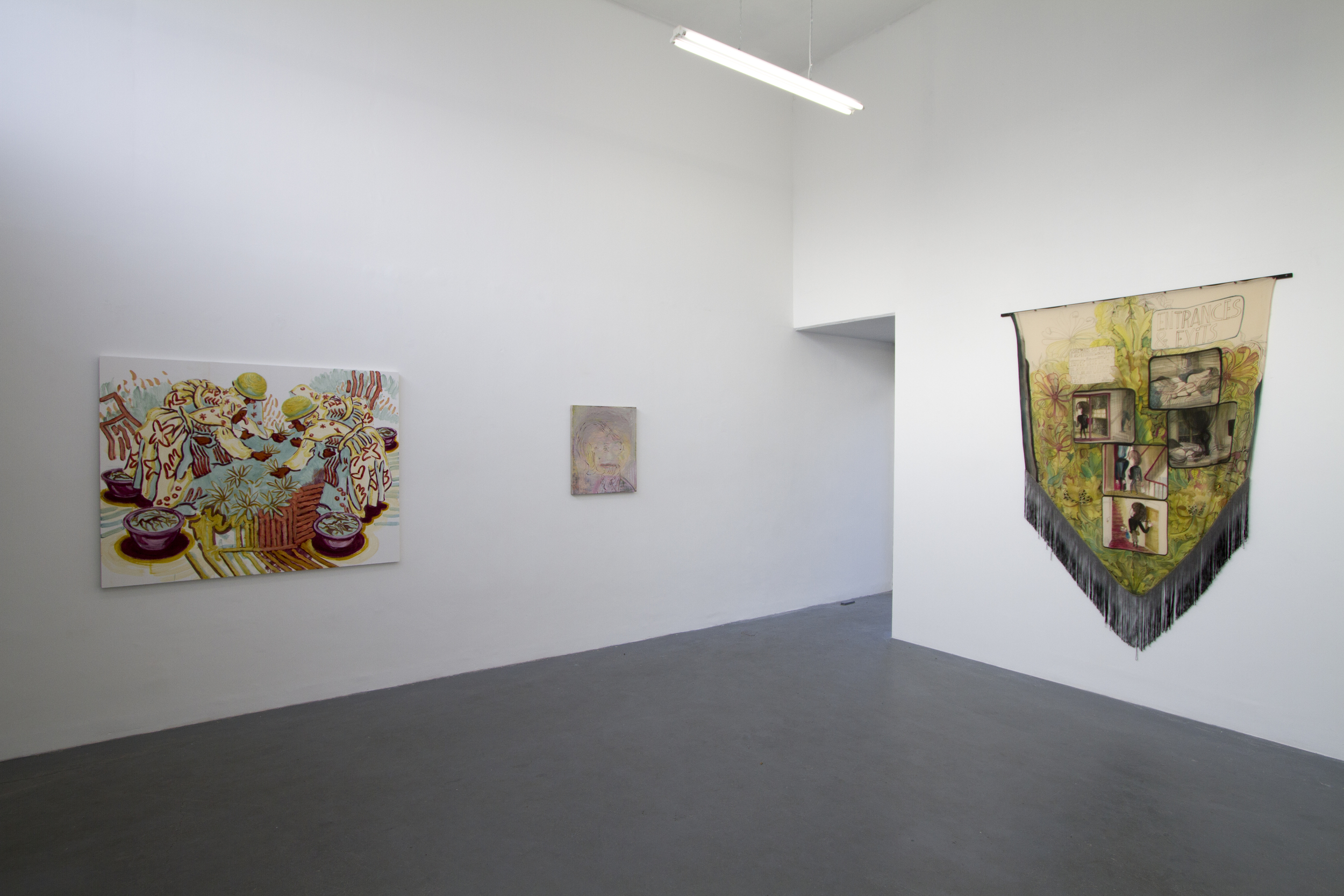 Courtesy of Emma Talbot, Domo Baal and Petra Rinck Galleries