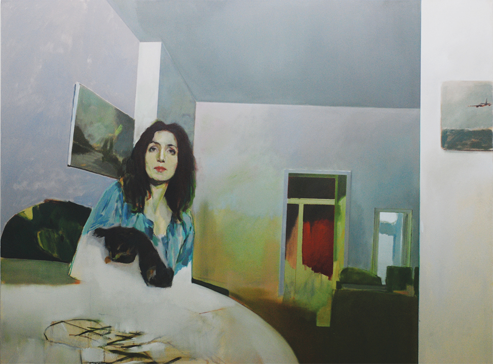 Nelson Diplexcito 'Apartment 6' (2017) Oil on canvas 150x200cm.jpg