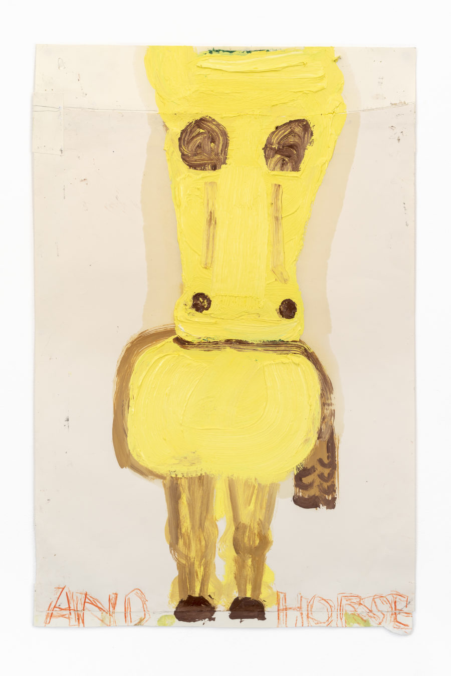 Yellow-Horse-I-2018-Oil-coloured-pencil-and-collage-on-paper-92-x-59.7-cm-Rose-Wylie-900x1349.jpg
