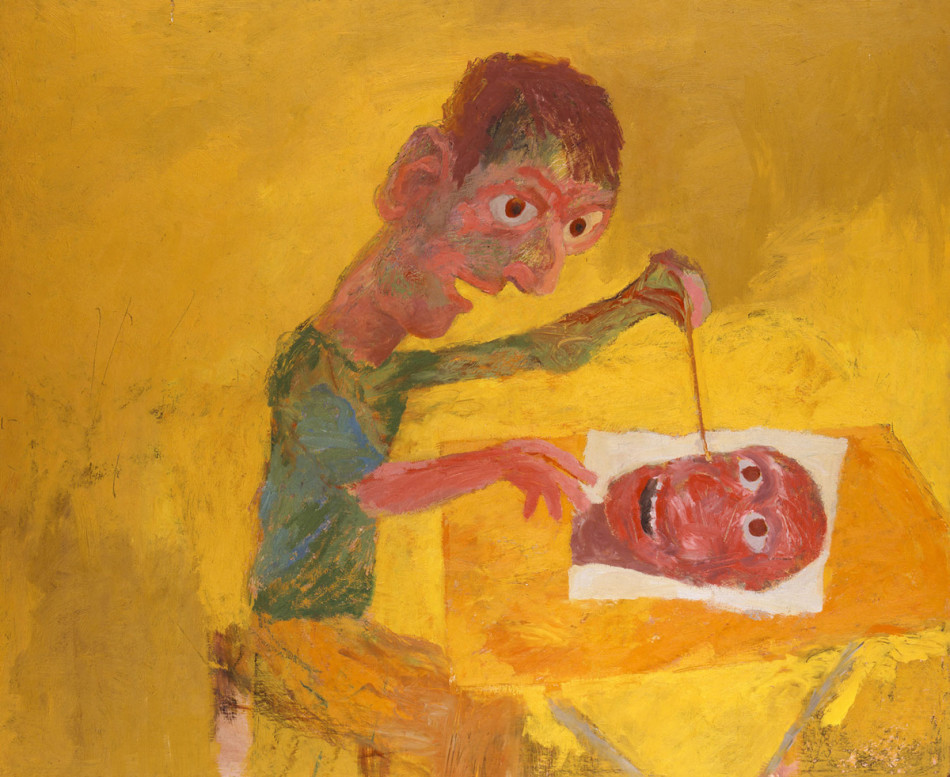 KEN KIFF Man Painting