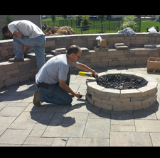 Outdoor Gas Fireplaces and Pits