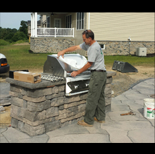 Outdoor Gas Grill Lines