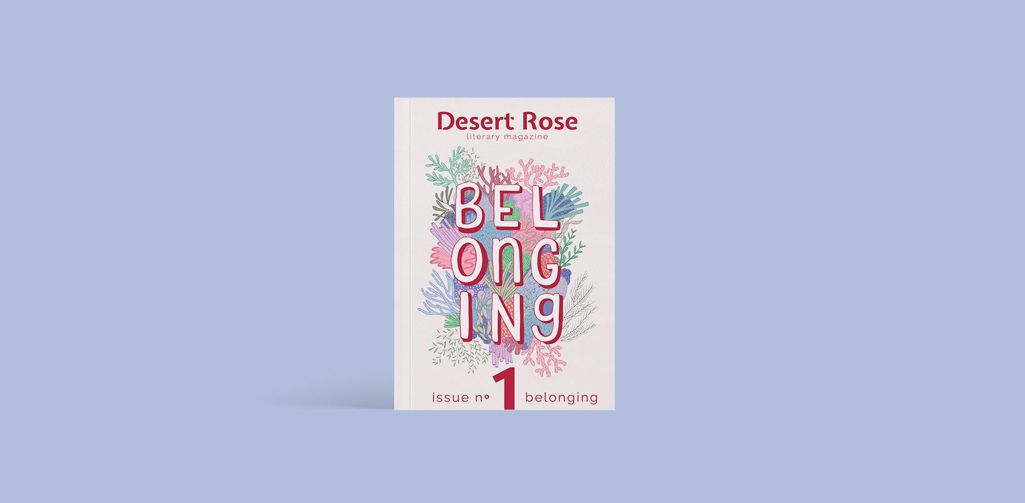 Co-founder and Designer of Desert Rose Literary Magazine — Anastasia