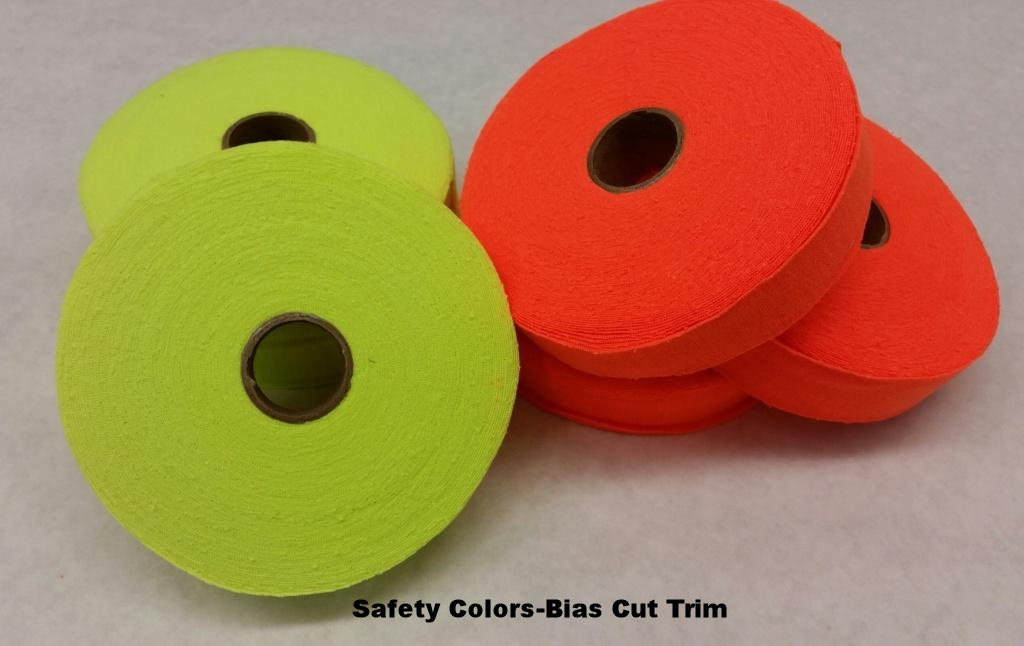 Safety colors-bias cut