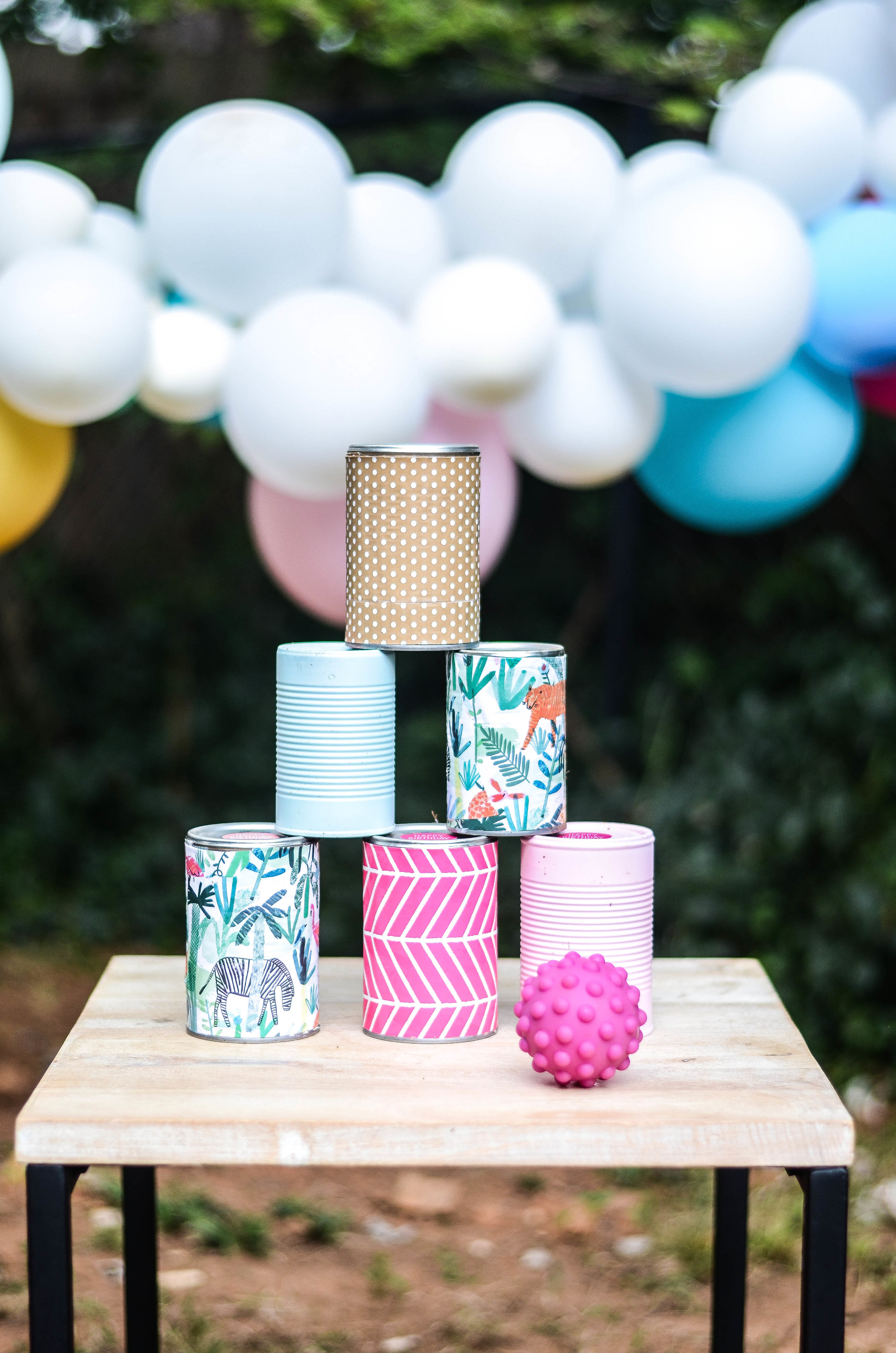 Toddler Birthday Party Ideas | Can Toss