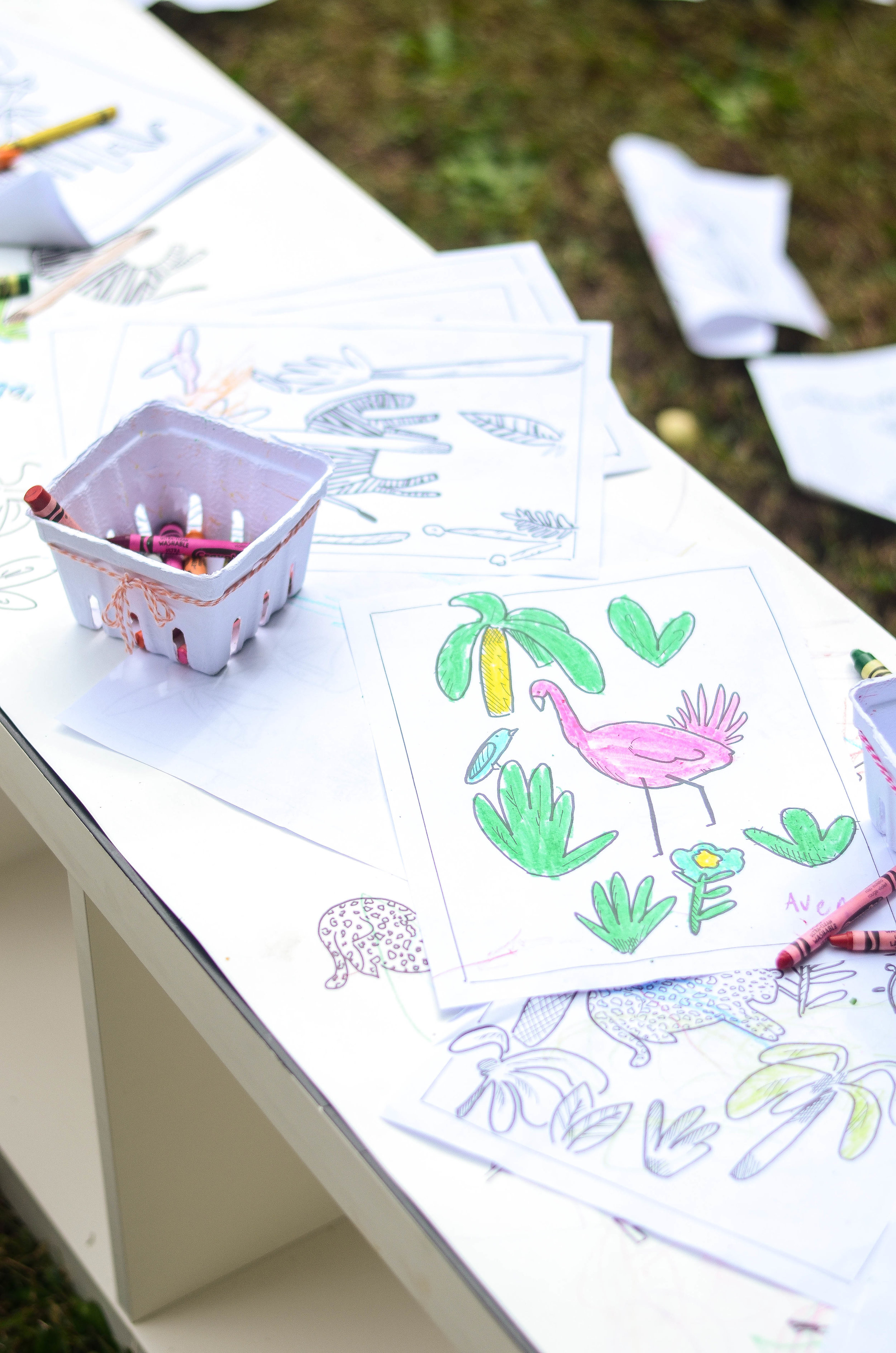 Coloring Station
