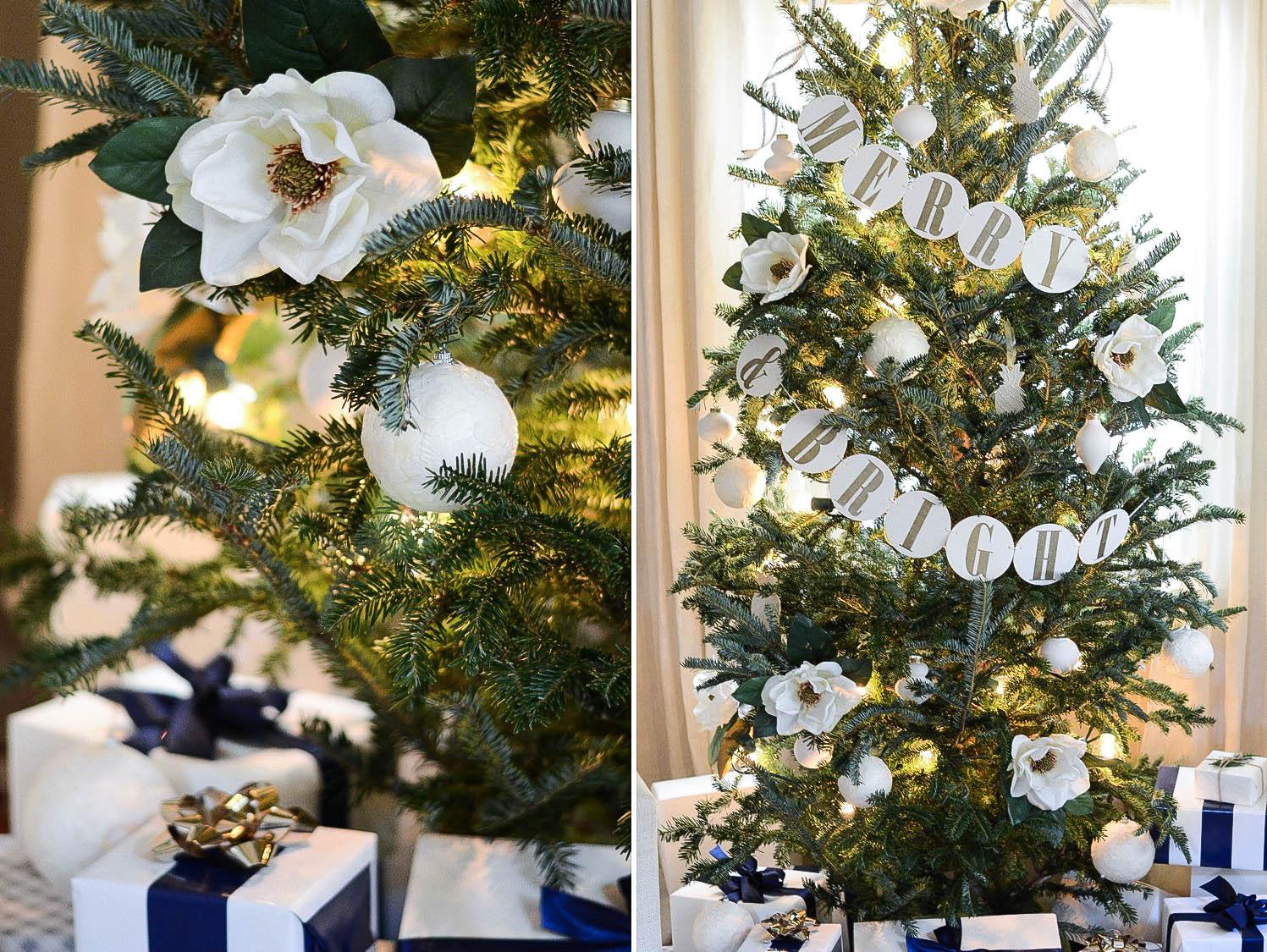 Merry & Bright Tree Garland
