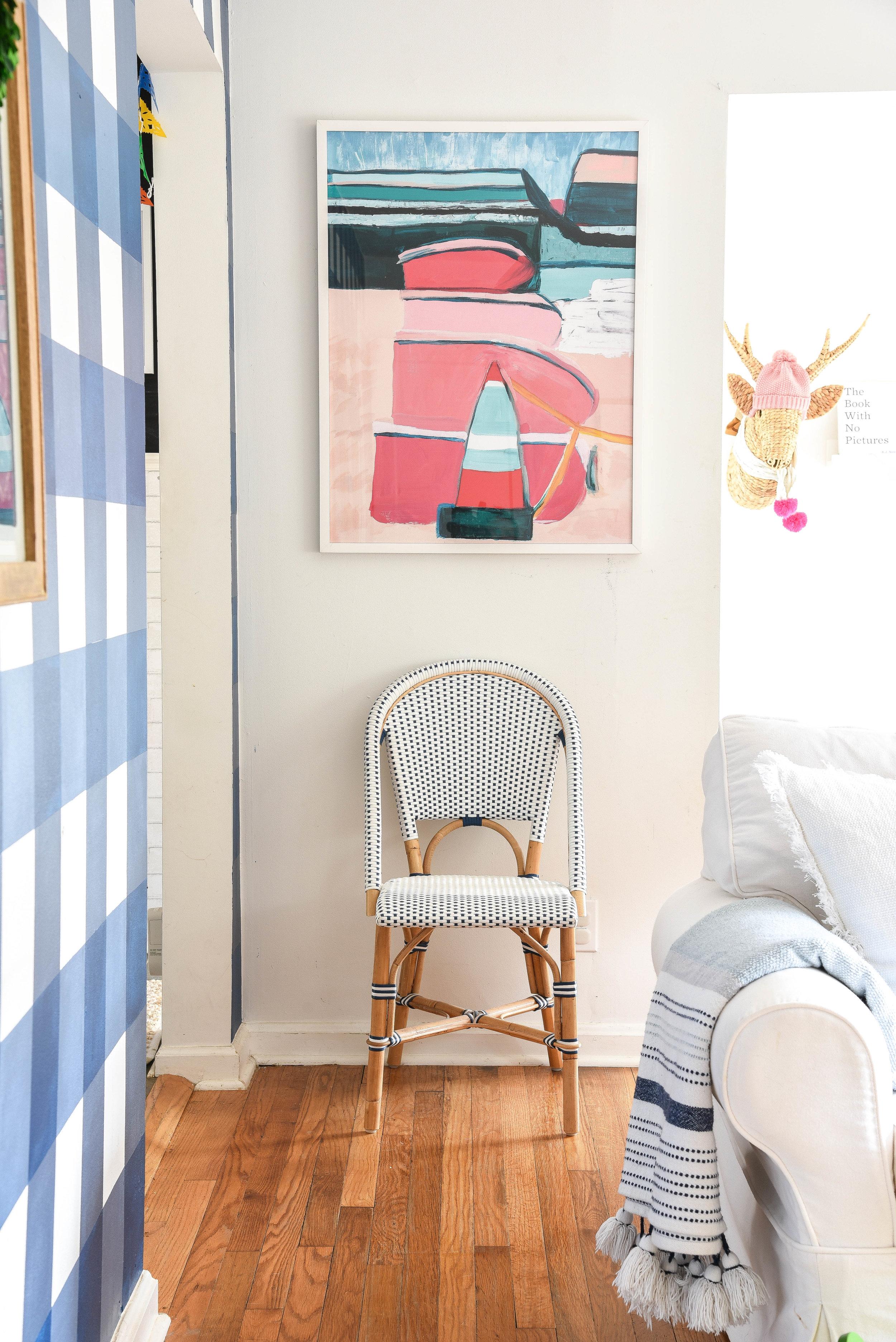 Bright & Cherry Living Room