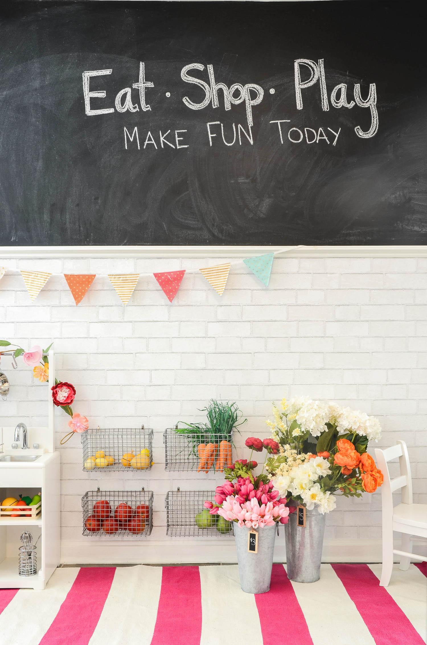 Kitchen Playroom