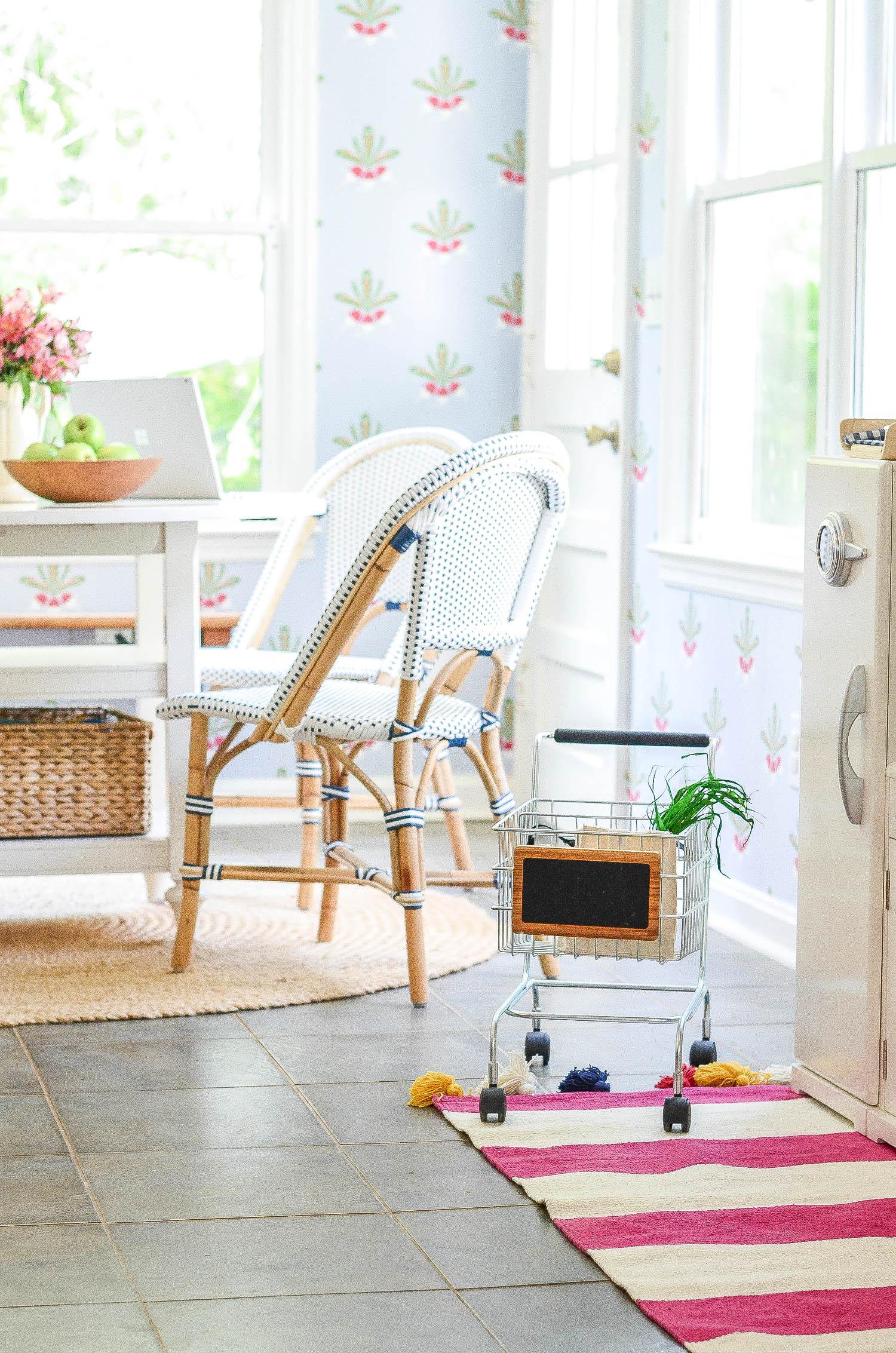 Breakfast Nook Playroom
