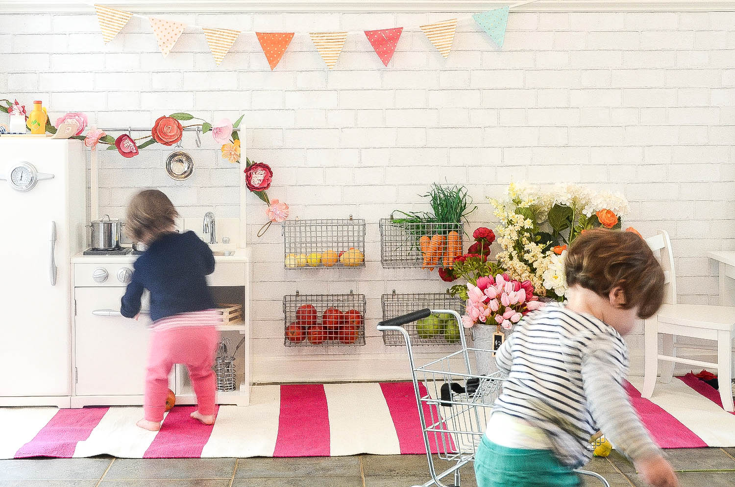 Our Playroom | Kitchen, Market, Cafe in One! — iron & twine