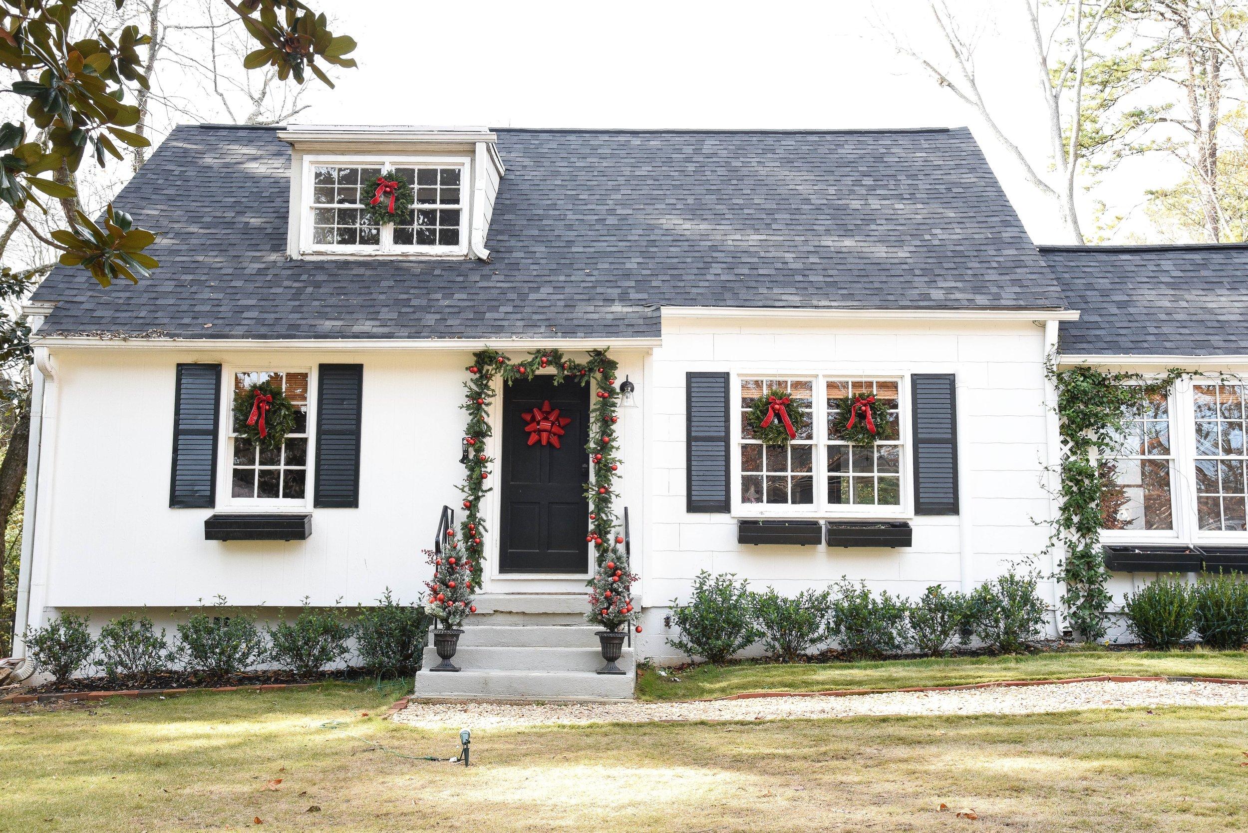 Ductless HVAC Minisplit House Exterior