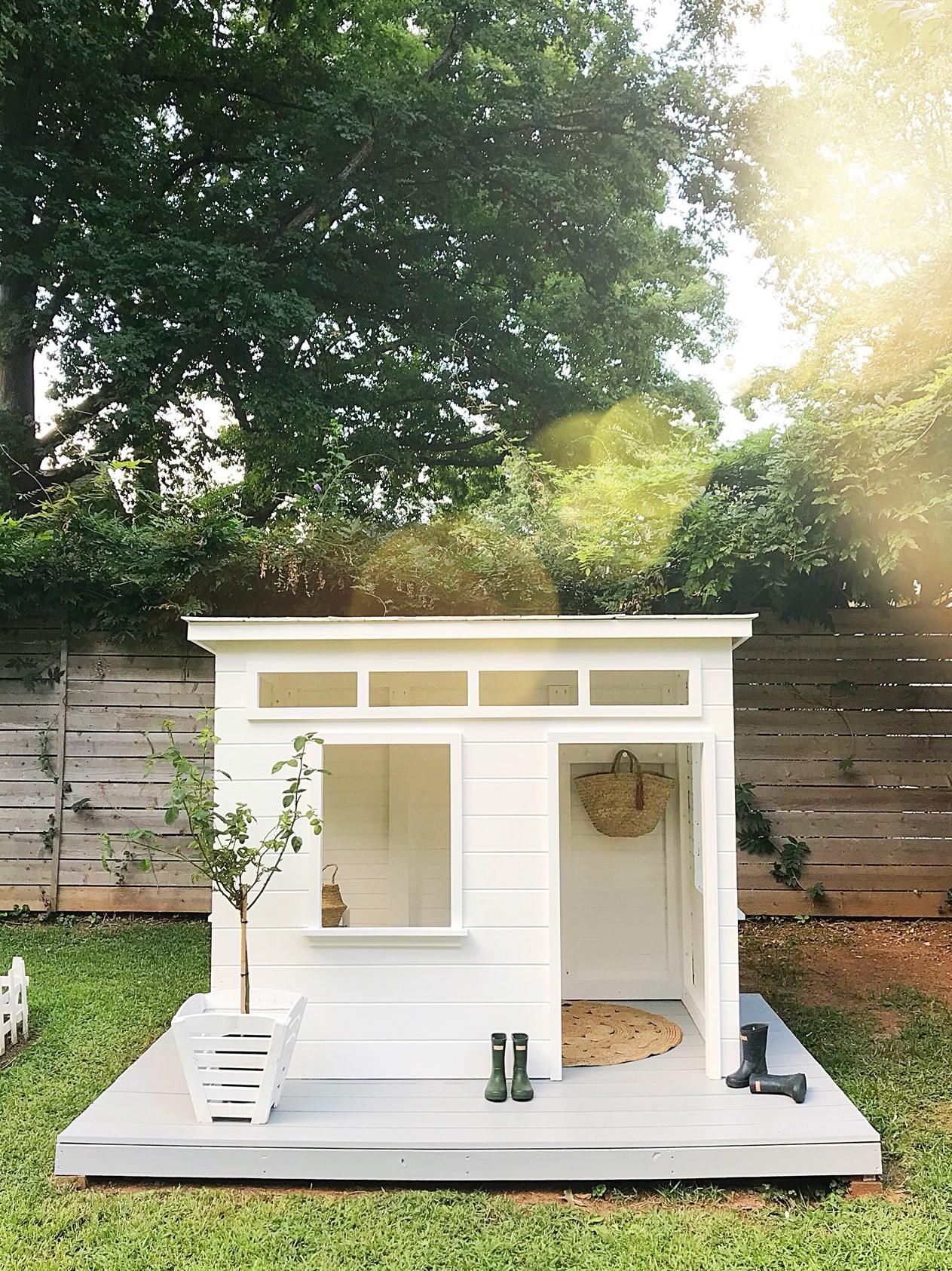 Adorable Modern Playhouse