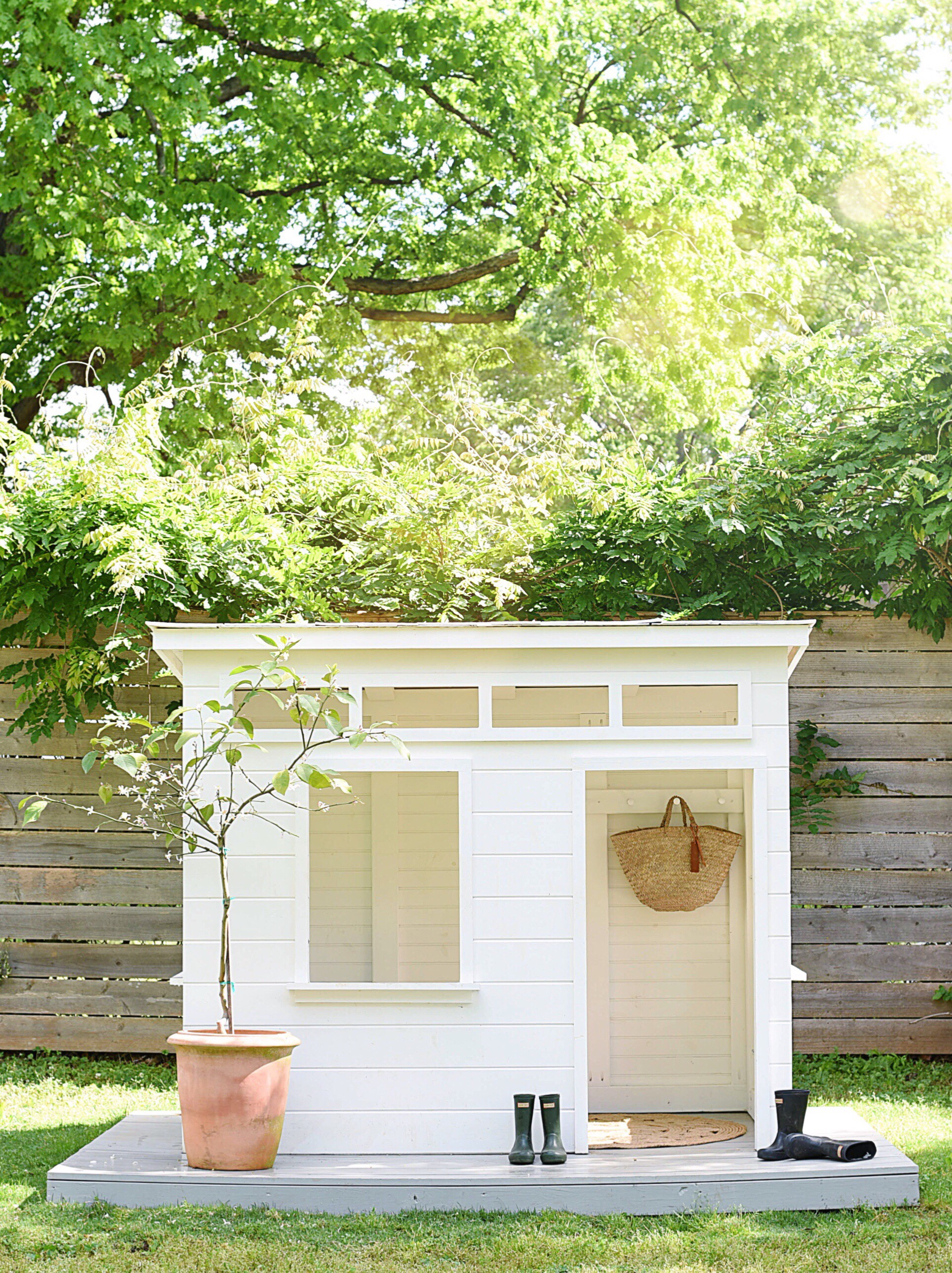 Adorable Modern Playhouse by Michelle Cannon Smith