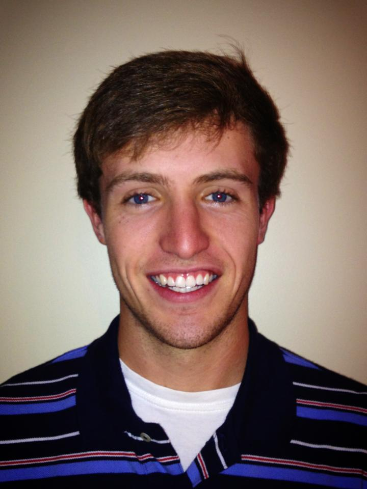 """Patrick McCarthy  Hometown: Hendersonville, NC  School: Wake Forest University  Major: Economics and Religion  Job: Eanes Heating and Air Conditioning  Church: First Presbyterian  """"I enjoy watching sporting events (particularly highly ranked/evenly matched teams/marquee events). I am also trying to move the phrase """"groovy gravy"""" into the popular lexicon."""""""