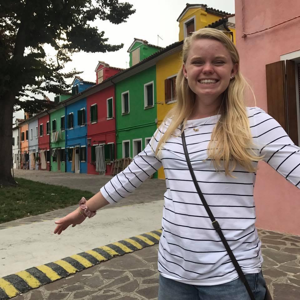 Haley Westervelt   Hometown: Lexington, NC  School: Wake Forest University  Major: Art History (Pre-Med)  Employer: Athletes in Action  Church: Hope  Superpower: Spikeball