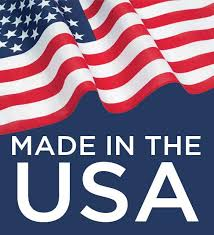 Made in The USA with Domestic Materials.
