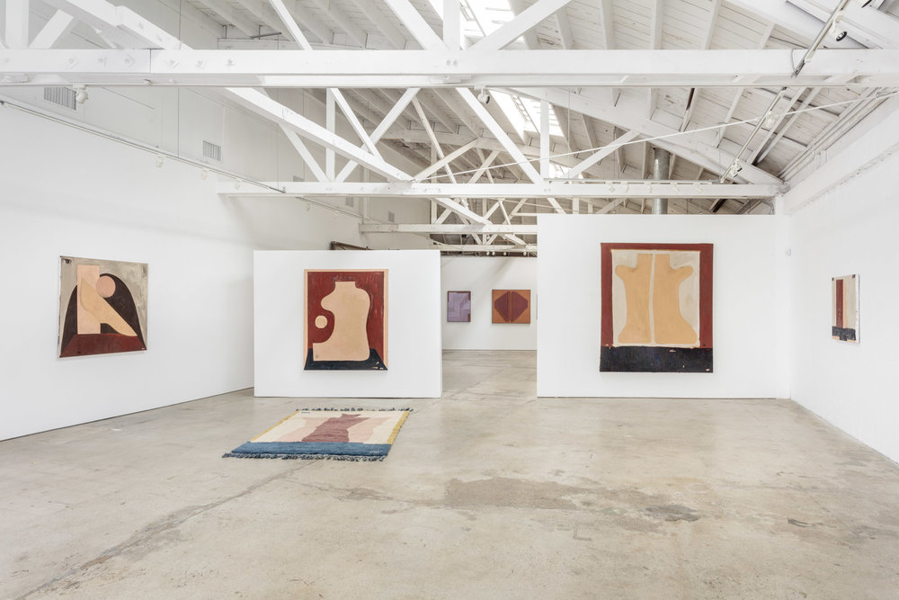 Installation view, Mattea Perrotta & Jonathan Ryan, the Landing, 2018