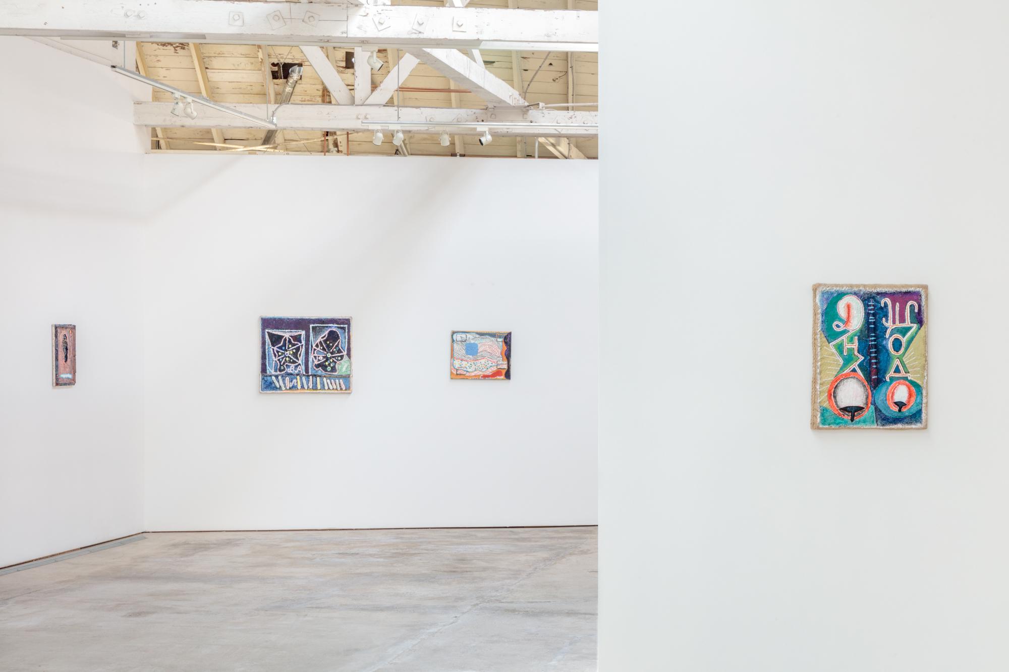 Installation view, Yevgeniya Baras: Towards Something Standing Open, the Landing, 2018