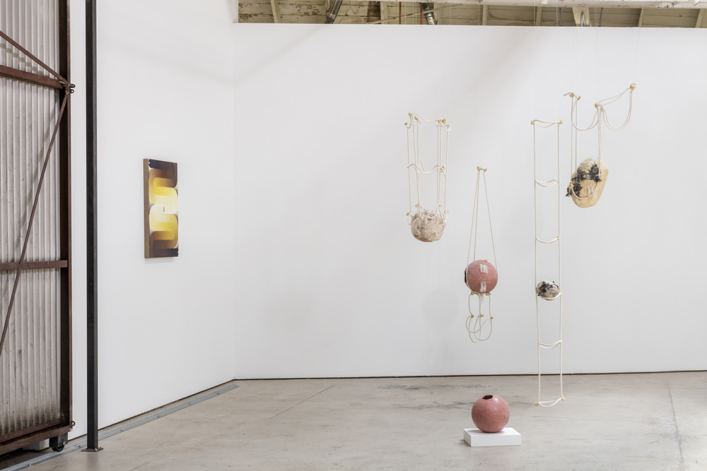 Installation view, 3 Women, the Landing, 2016