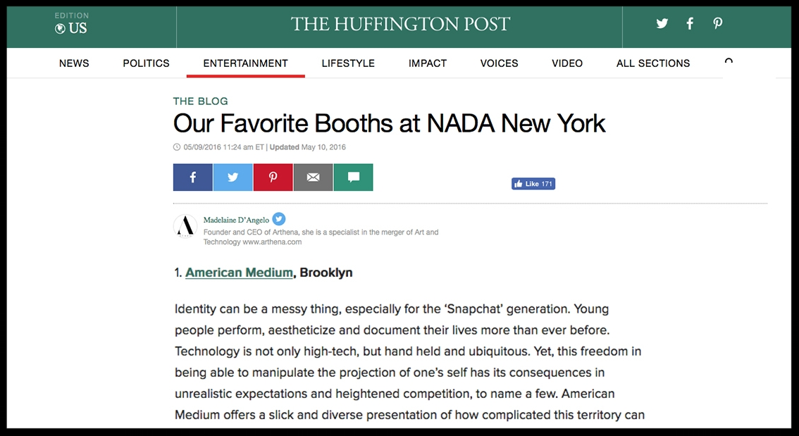- The Huffington PostOur Favorite Booths at NADA New York