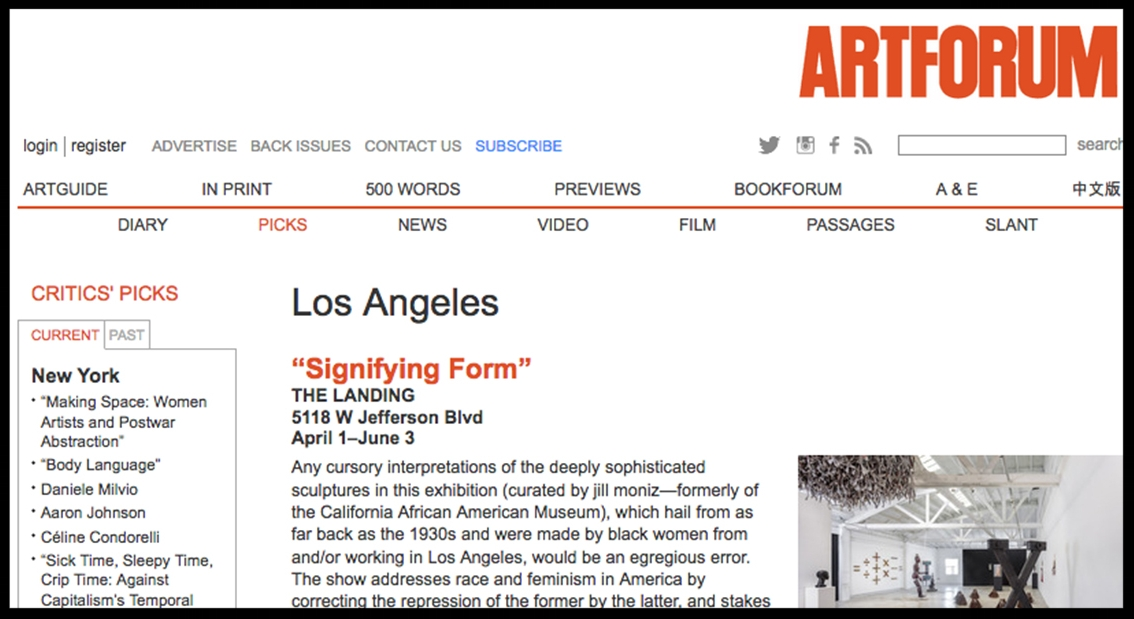 - Art ForumSignifying Form