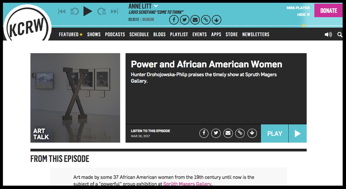 - KCRWPower and African American Women