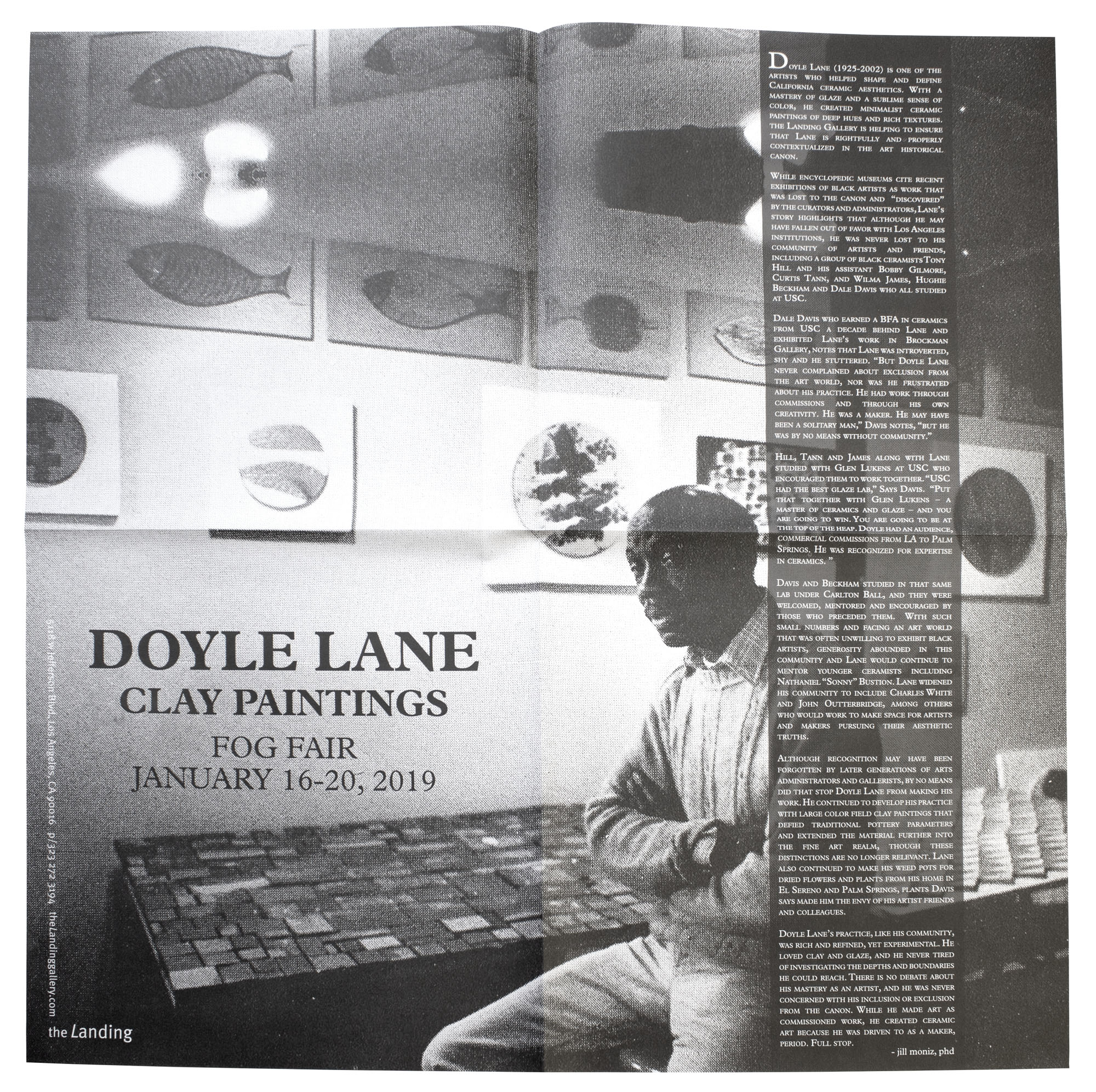 Doyle Land Poster - The Landing