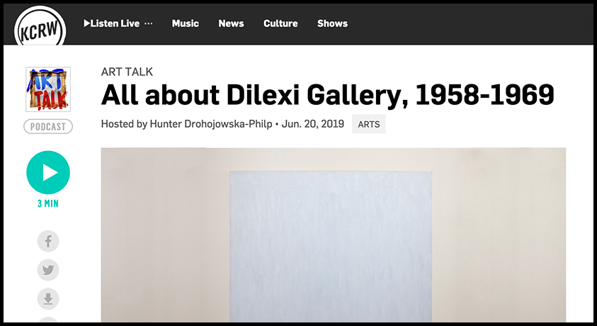 - KCRWAll About Dilexi Gallery, 1958-1969