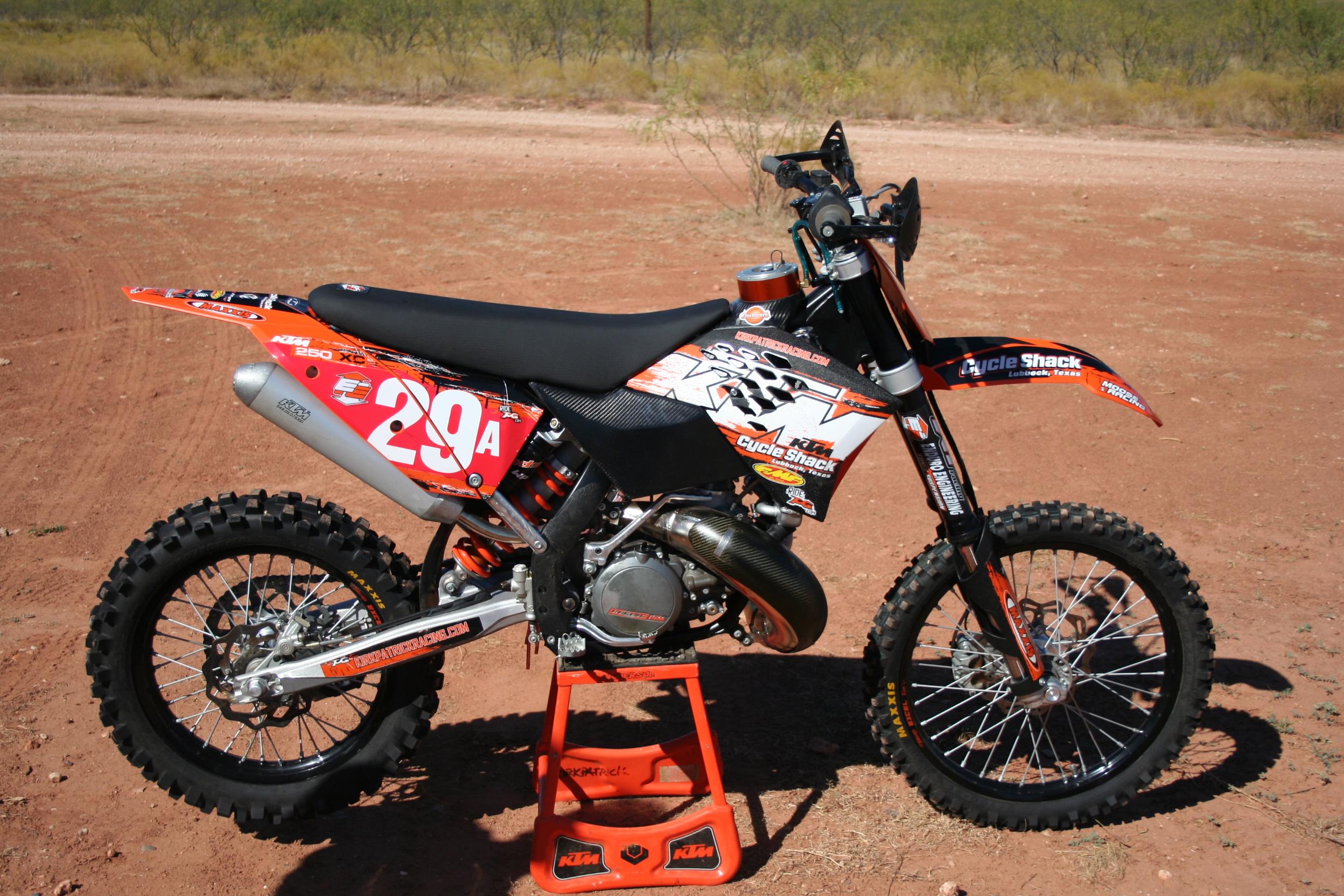 2008 KTM 250 XC