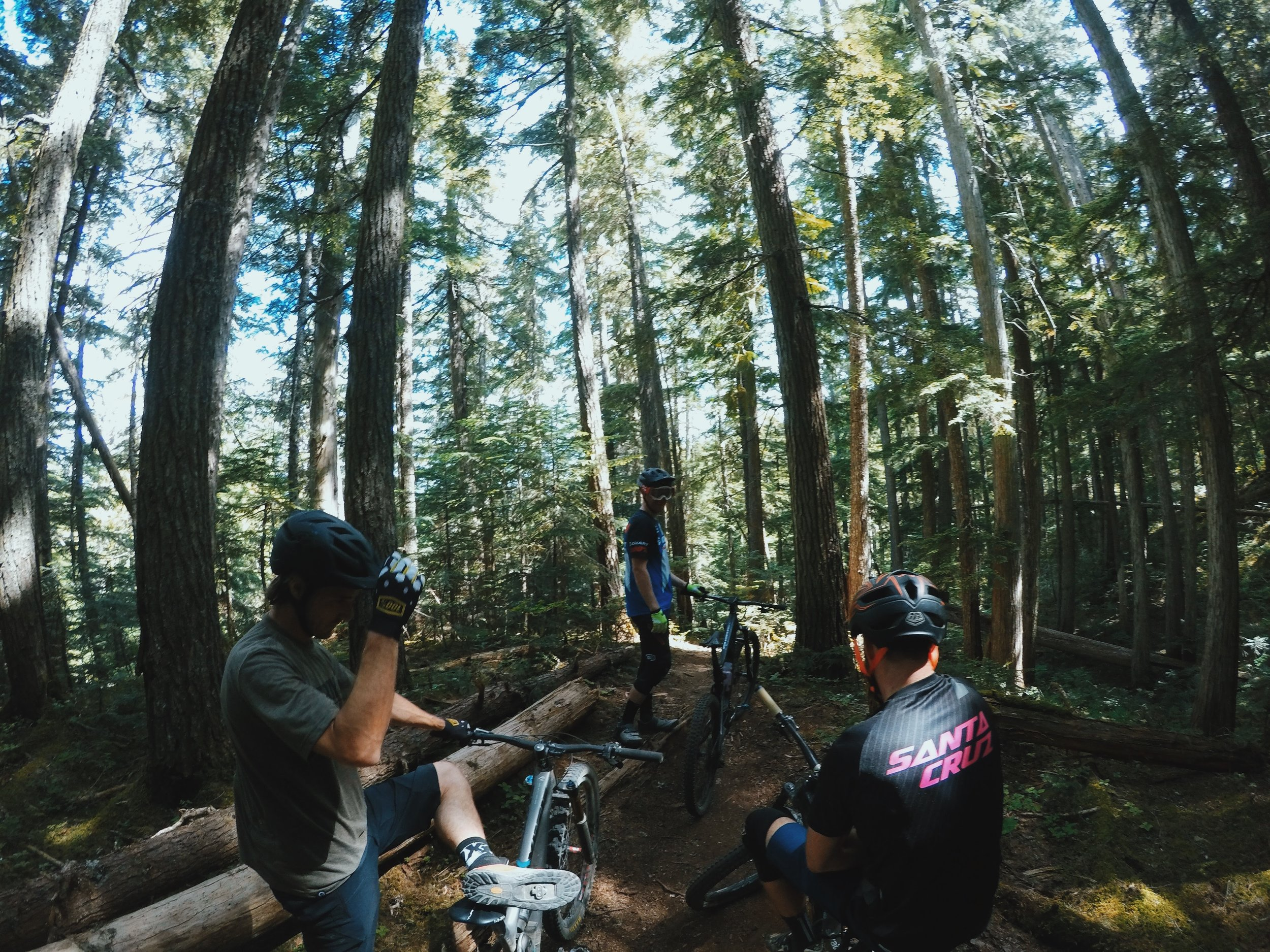 EWS pro and factory Giant pro, Josh Carlson, joined us in Whistler one day to show us the local trails on the Blackcomb side of the resort.