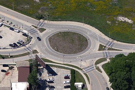 Winnebago Street Roundabout