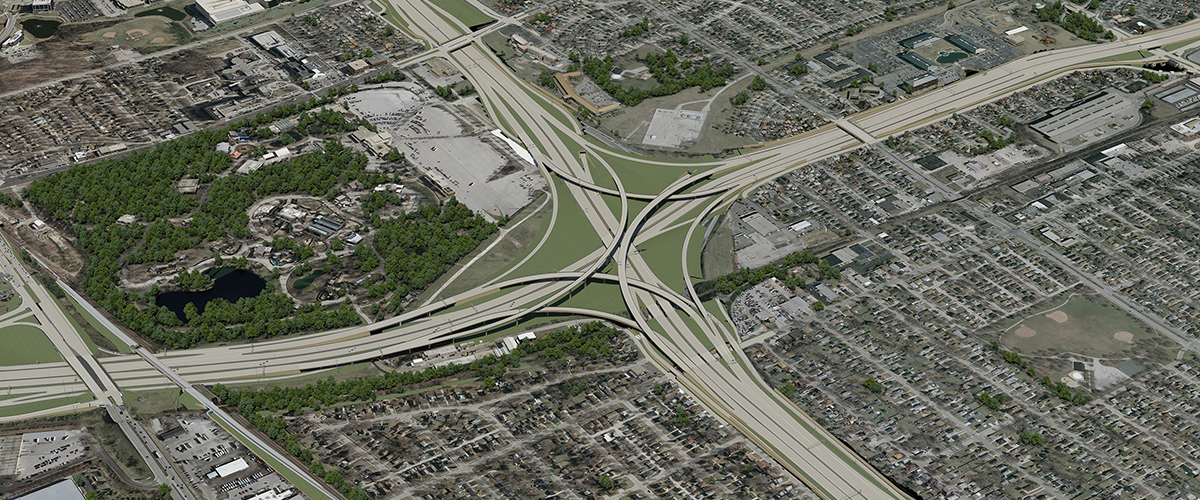Zoo Interchange 3D Modeling & Visualizations