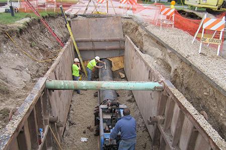 Milwaukee Water Works Watermain Design