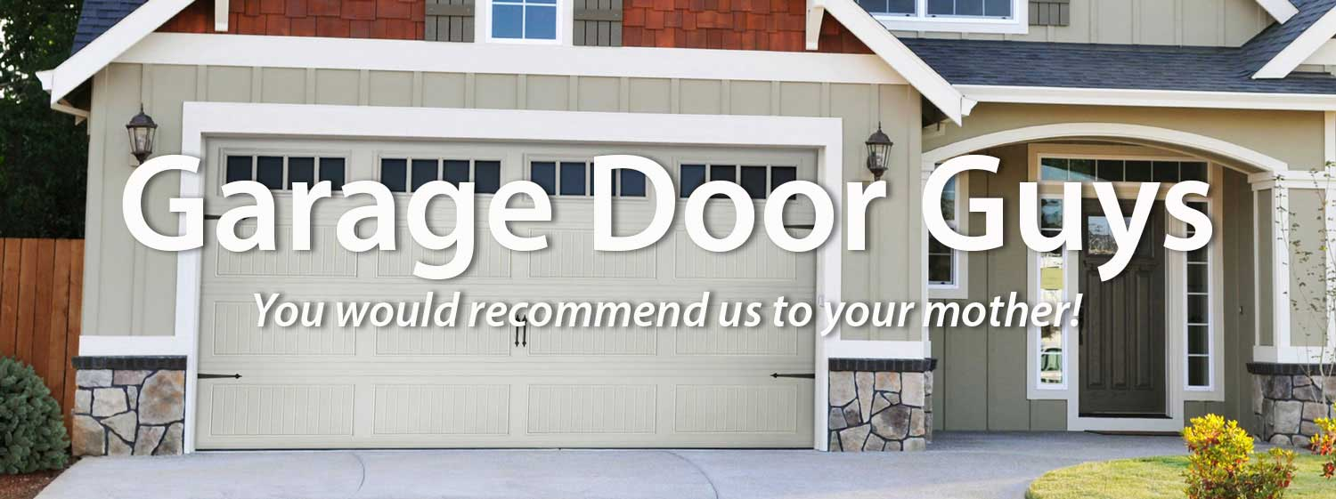 Garage Door Guys new garage door installation