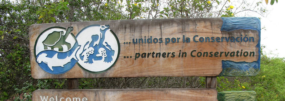 Welcome to the Galapagos National Park and Charles Darwin Research Station! Photo by Lori Ulrich