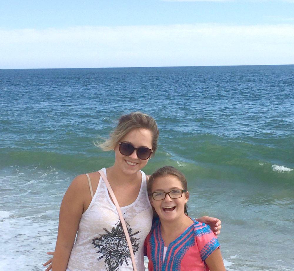 Ruby & Emily, September 2016