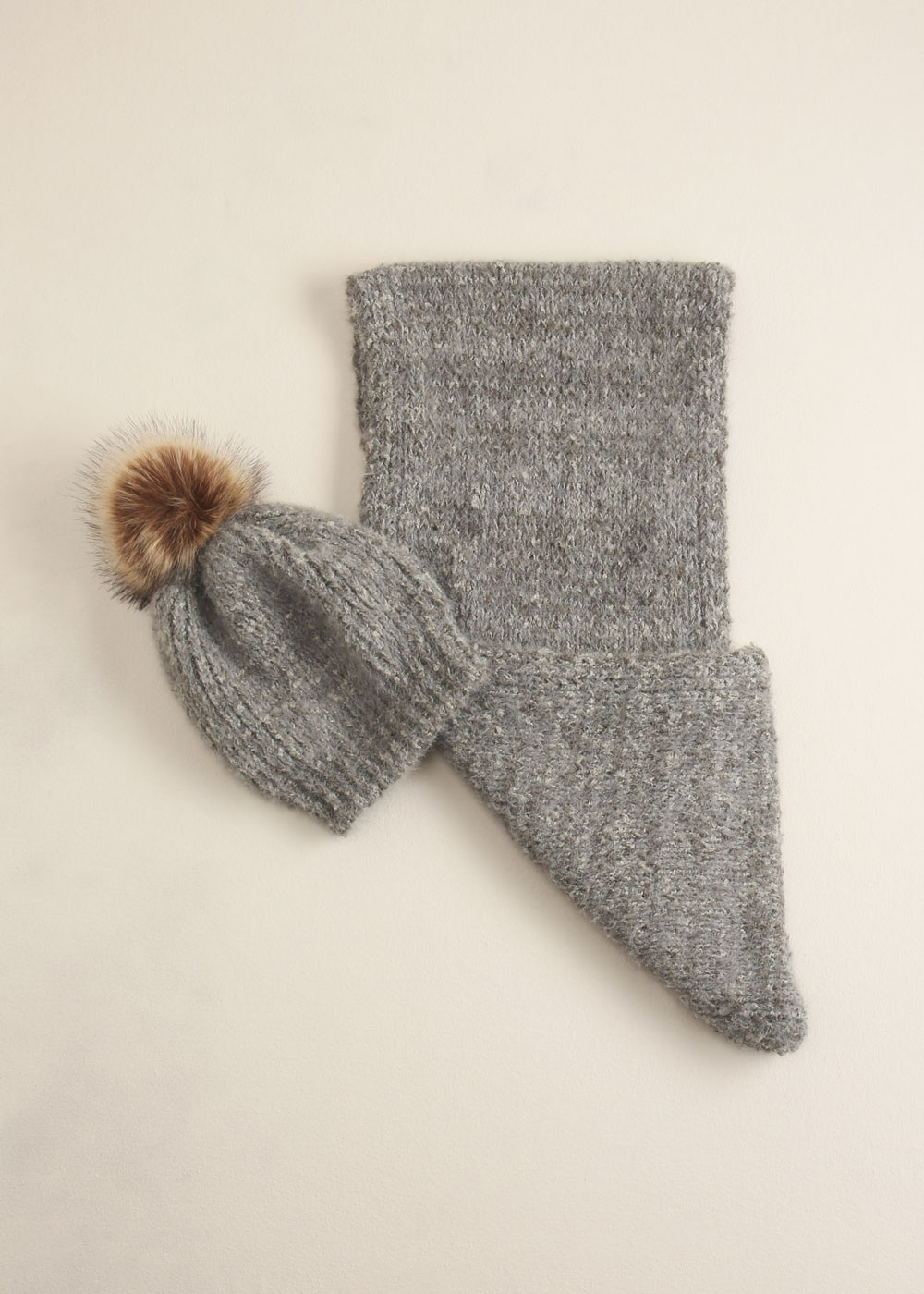 Hat & Scarf - $68