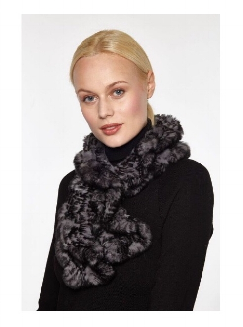 Rabbit Fur Scarf - $187