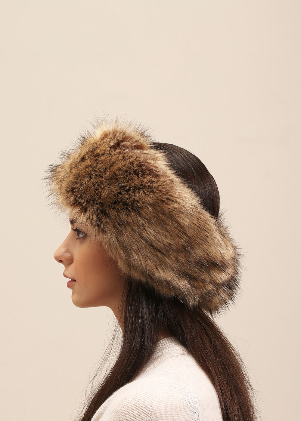 Furry Headband - $22