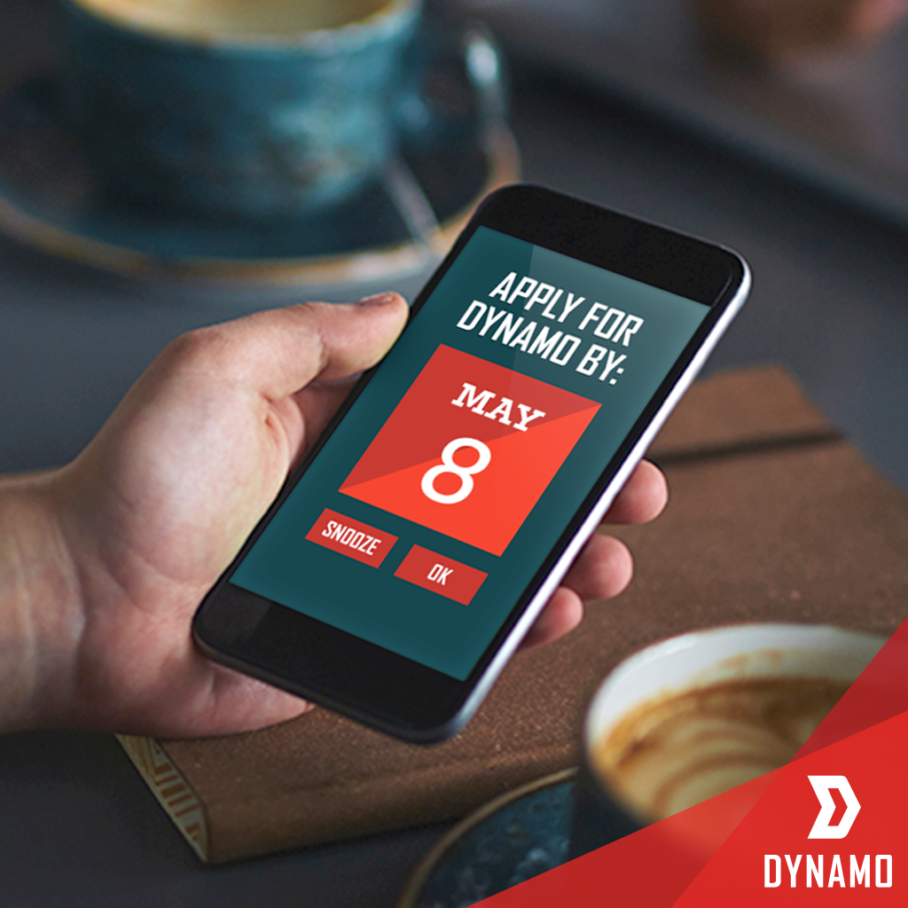 Ideas are worthless unless you act on them. You've got five days to make the right move: hellodynamo.com.