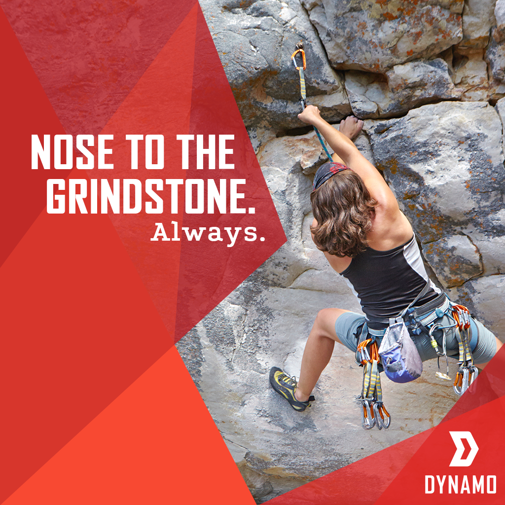 Never give up on the hustle. Apply for Dynamo before May 8th to take your idea straight to the top.