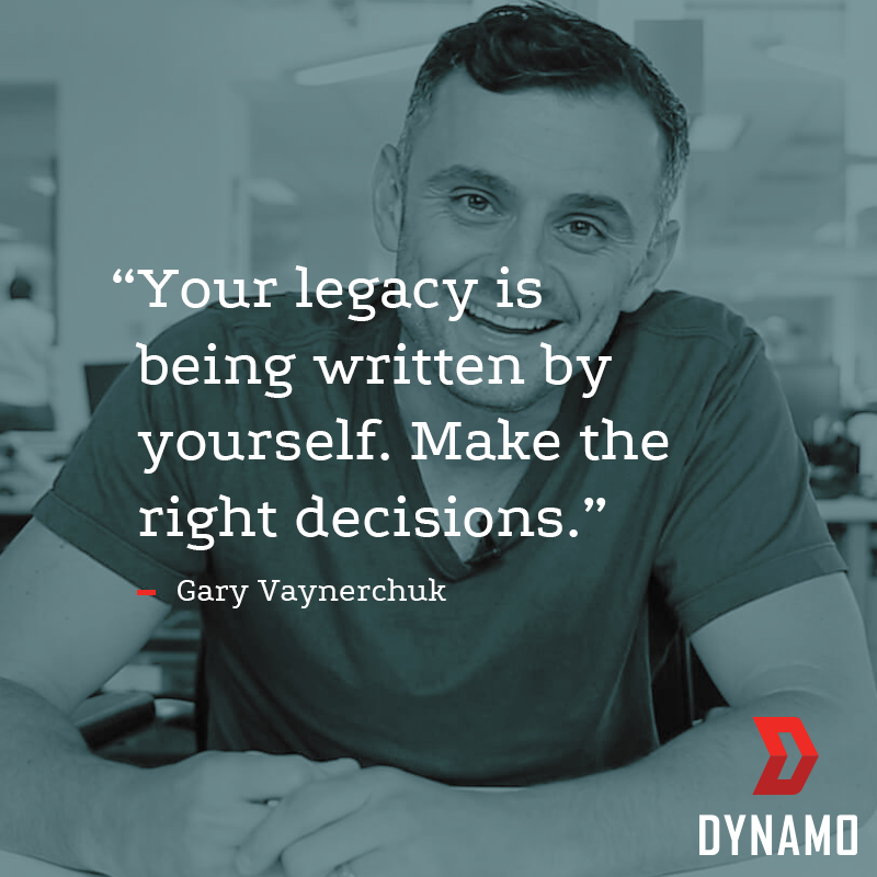 A single choice could make or break your business. Gain access to advice from legit mentors like Gary Vaynerchuk by joining Dynamo. Hit us up, here: hellodynamo.com