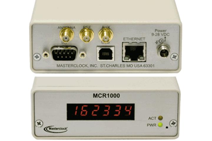 Masterclock MCR1000