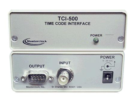 masterclock tci500