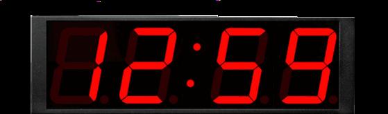 TCDS84 Time Code Digital Display
