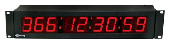 NTDS29-RM NTP Digital Clock