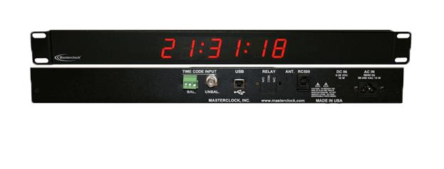 TCDS16-RM Time Code Digital Clock