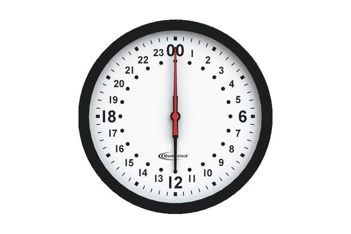 CLKNTD12-24HM NTD Analog Clock